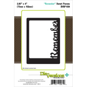 Die-Versions Sweet Frames Die-Remember, 7.4cm x 10cm