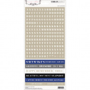 Urban Market Stickers 15cm x 30cm -Words