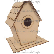 La-La Land Frames & Shapes Kit 19cm x 17cm -Birdhouse With Base