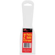 Plastic Putty Knives 5.1cm -White