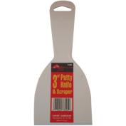 Plastic Putty Knives 7.6cm -White