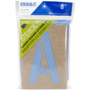Stencil-It Reusable Lettering Set-20cm