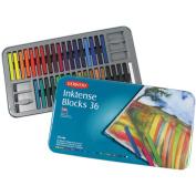 Inktense Blocks 36 Colour Tin