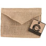 Burlap Envelope 13cm x 18cm -Natural