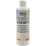 Americana Brush On Sealer/Finish 240ml Squeeze Bottle-DuraClear Ultra Matte Varnish