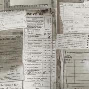 Eclectic Elements-Tim Holtz 110cm 100% Cotton D/R-Documentation-Taupe