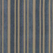 Eclectic Elements-Tim Holtz 110cm 100% Cotton D/R-Ticking-Blue