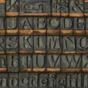 Eclectic Elements-Tim Holtz 110cm 100% Cotton D/R-Stamps-Neutral