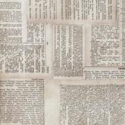Eclectic Elements-Tim Holtz 110cm 100% Cotton D/R-Dictionary-Neutral