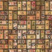 Eclectic Elements-Tim Holtz 110cm 100% Cotton D/R-Measurement-Neutral