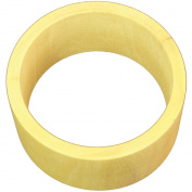 Unfinished Bangle Bracelet Flat Exterior-Medium 3.8cm Wide