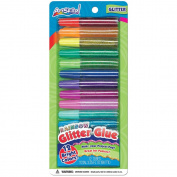 Rainbow Glitter Glue .830ml 12/Pkg