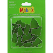 Makin's Clay Cutters 12/Pkg-Christmas