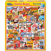 Jigsaw Puzzle 1000 Pieces 60cm x 80cm -Cereal Boxes