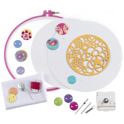 American Girl Pretty Button Clock Kit