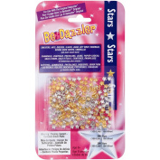 Be Dazzler Stud Refill 200/Pkg-Stars Gold & Silver