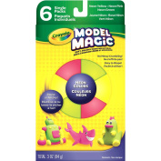 . Model Magic Neon Clay, Assorted, 6-Pack