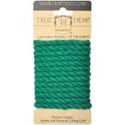 Hemp Rope 6mm 6.56'/Pkg-Green