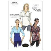 Vogue Patterns V8649 Misses' Top