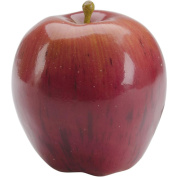 Design It Simple Style Styrofoam Fruit 1/Pkg-Red Apple