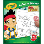Crayola Jake and The Neverland Pirates Colour 'n Sticker Books