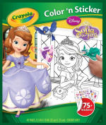 Colour 'N Sticker Book-Sofia The First