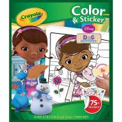 Colour 'N Sticker Book-Doc McStuffins