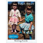Valori Wells Pattern-Twirl Skirt