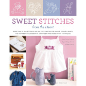 Potter Craft Books-Sweet Stitches From The Heart