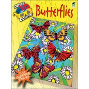 Dover Publications-Butterflies Colouring Book 3D