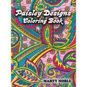 Dover Publications-Paisley Designs Colouring Book