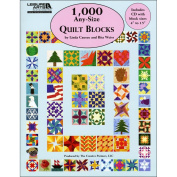 Leisure Arts-1,000 Any-Size Quilt Blocks