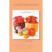 Aunties Two Patterns-Cupcake Basket