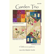Laundry Basket Quilts-Garden Trio