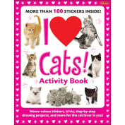 Walter Foster Creative Books-I Love Cats Activity Book