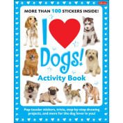 Walter Foster Creative Books-I Love Dogs Activity Book