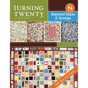 FriendFolks Books-Turning 20 Stained Glass & Scraps