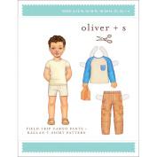 Oliver + S Patterns-Field Trip Cargo Pants + Raglan T