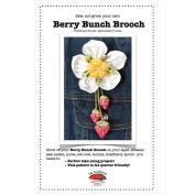 La Todera Patterns-Berry Bunch Brooch