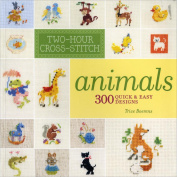 Lark Books-Two-Hour Cross-Stitch Animals