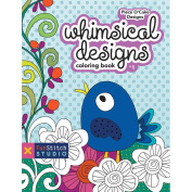 FunStitch Studio-Whimsical Designs Colouring Book