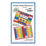 Patterns By Annie-Simple Strips Placemats