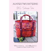 Aunties Two Patterns-Big Sebago Tote