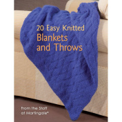 Martingale & Company-20 Easy Knitted Blankets & Throws