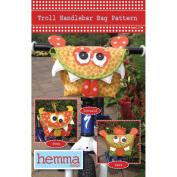 Hemma Design Patterns-Troll Handlebar Bag
