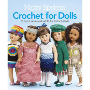Nicky Epstein Books-Crochet For Dolls