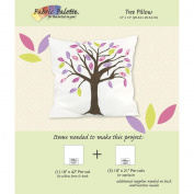 Fabric Editions Design Sheet/Project Card-Tree Pillow