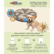 Fabric Editions Design Sheet/Project Card-Pet Bed & Festive Collar