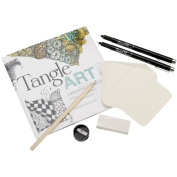 Quarry Books-Tangle Art Drawing Kit