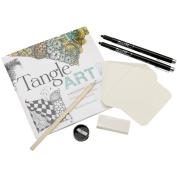 Quarry Books-Tangle Art Drawing Kit